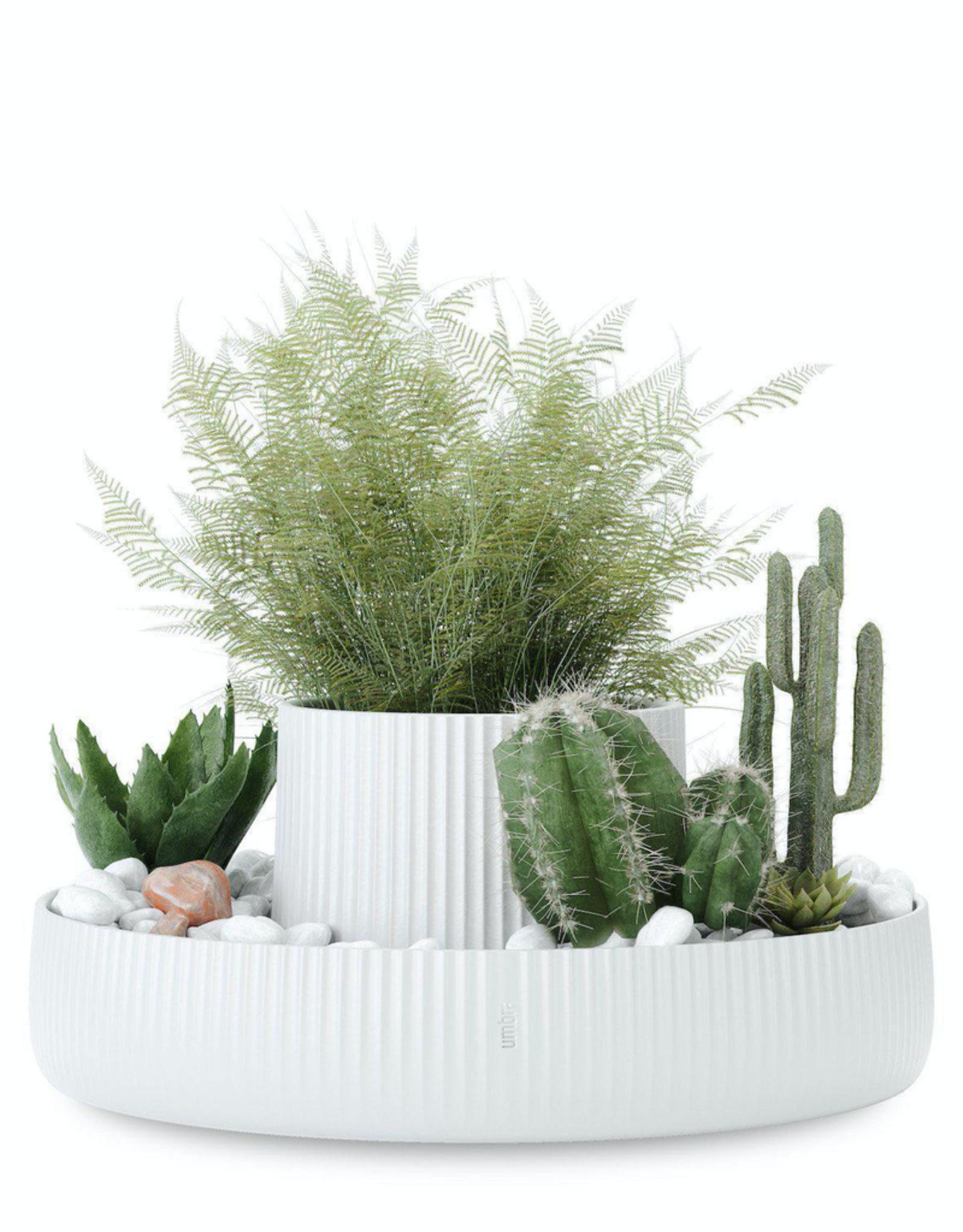 Fountain Planter White