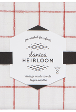 Heirloom Tea Towel-Clay Set 2