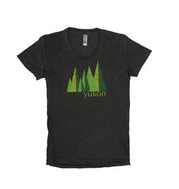 Women's Yukon Green Trees T-shirt