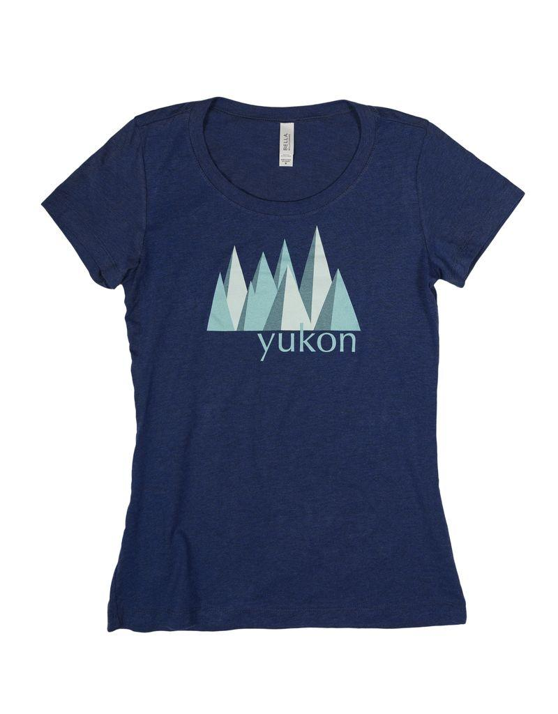 Women's Yukon Blue Mountain T-shirt