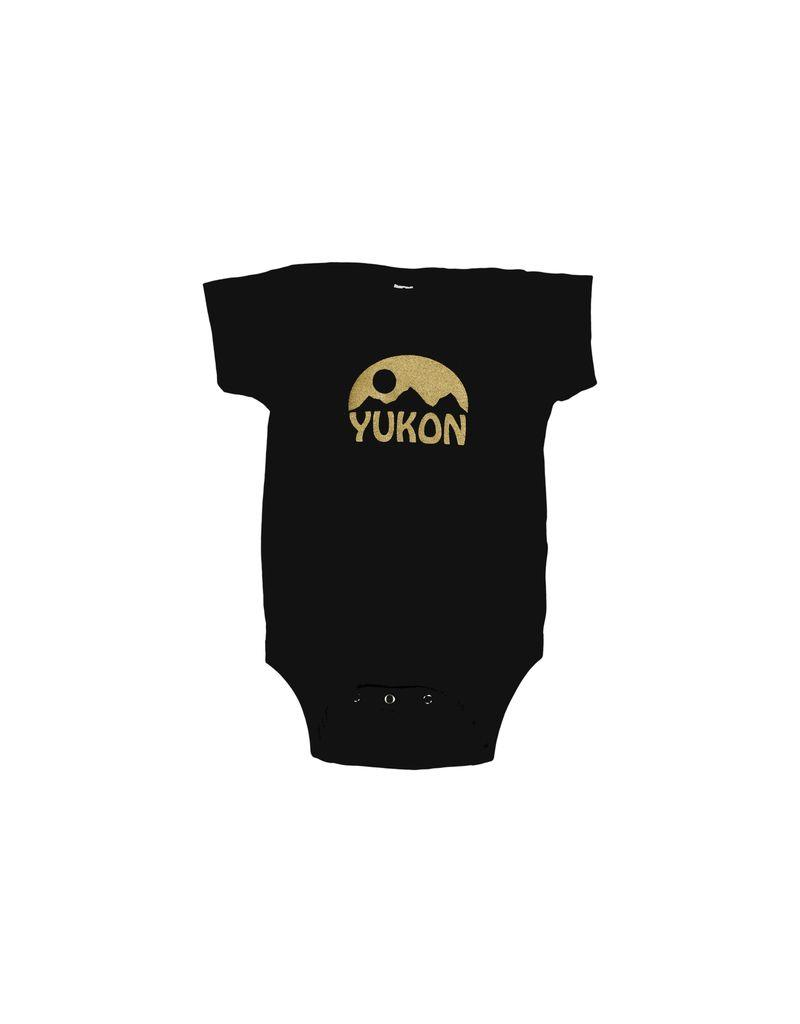 Unisex Yukon Gold Mountain Onesie