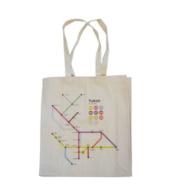 Yukon Route Map Tote