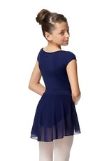 Lulli Dancewear Natasha Mesh Pull-on Wrap Skirt