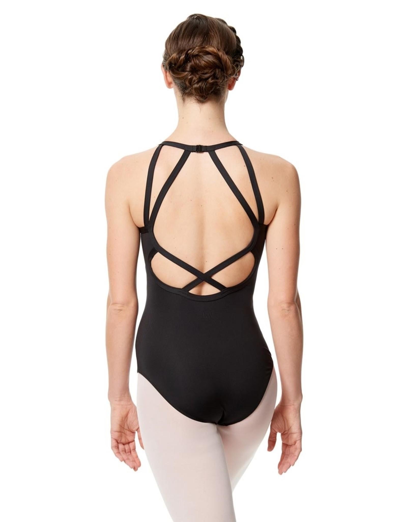 Lulli Dancewear Taliana Halter Neck Leotard with Strappy Back