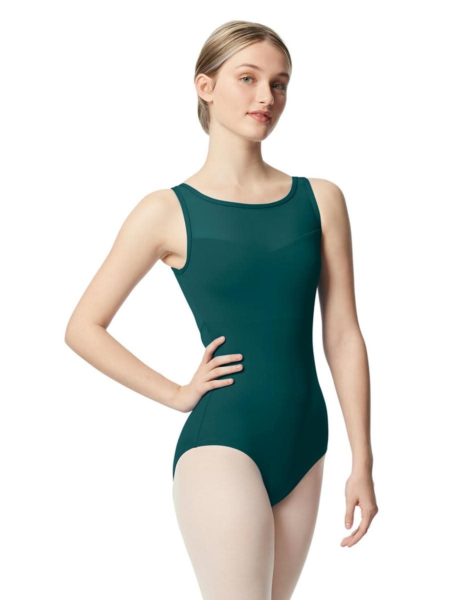 Lulli Dancewear Toma Tank Leotard with Mesh