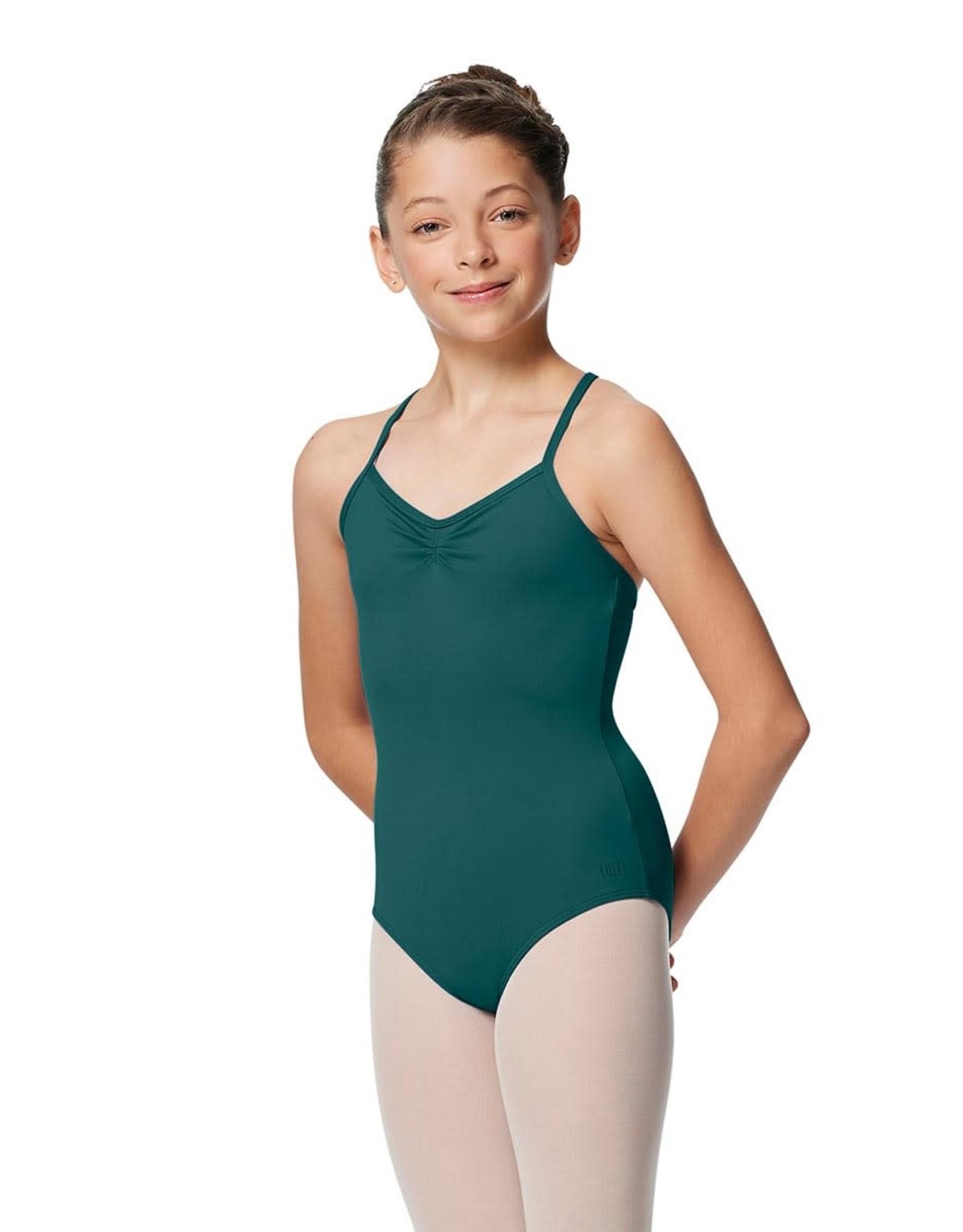 Lulli Dancewear Elena Pinch Front Camisole Leotard