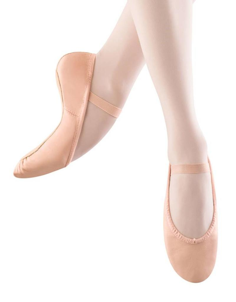 Bloch Girls 'Dansoft' Full Sole Ballet Slippers