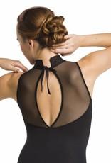 AinslieWear Emma Mesh Leotard with Tie Back