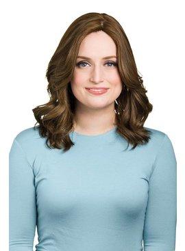 Lena Handtied 17'' Wavy Brunette Lena Handtied Wig 1350/21