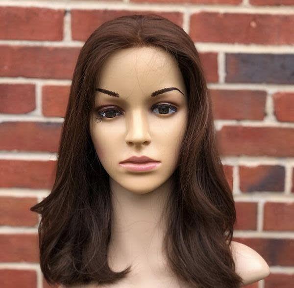 Follea 15'' Straight Brunette Follea Wig 2315/20847
