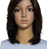 Famous Maker 15'' Straight Brunette Famous Maker European Wig 1236/1826