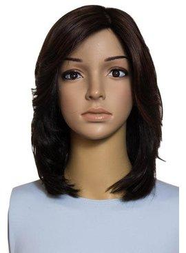 """Famous Maker 15"""" Straight Brunette Famous Maker European Wig 1236"""