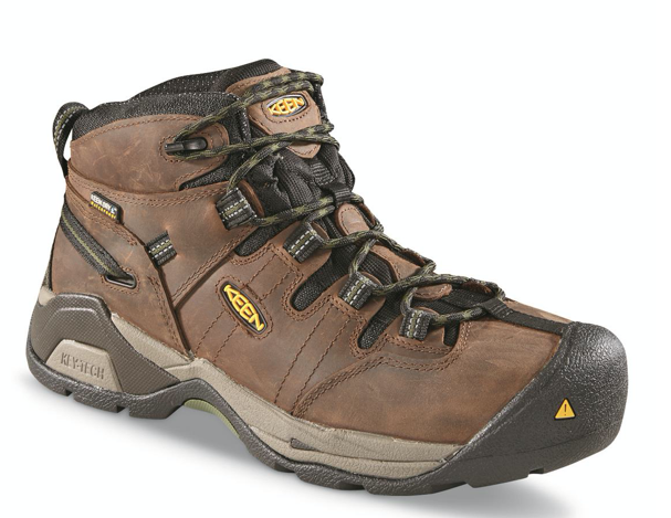 KEEN Men's Detroit Mid Steel Toe