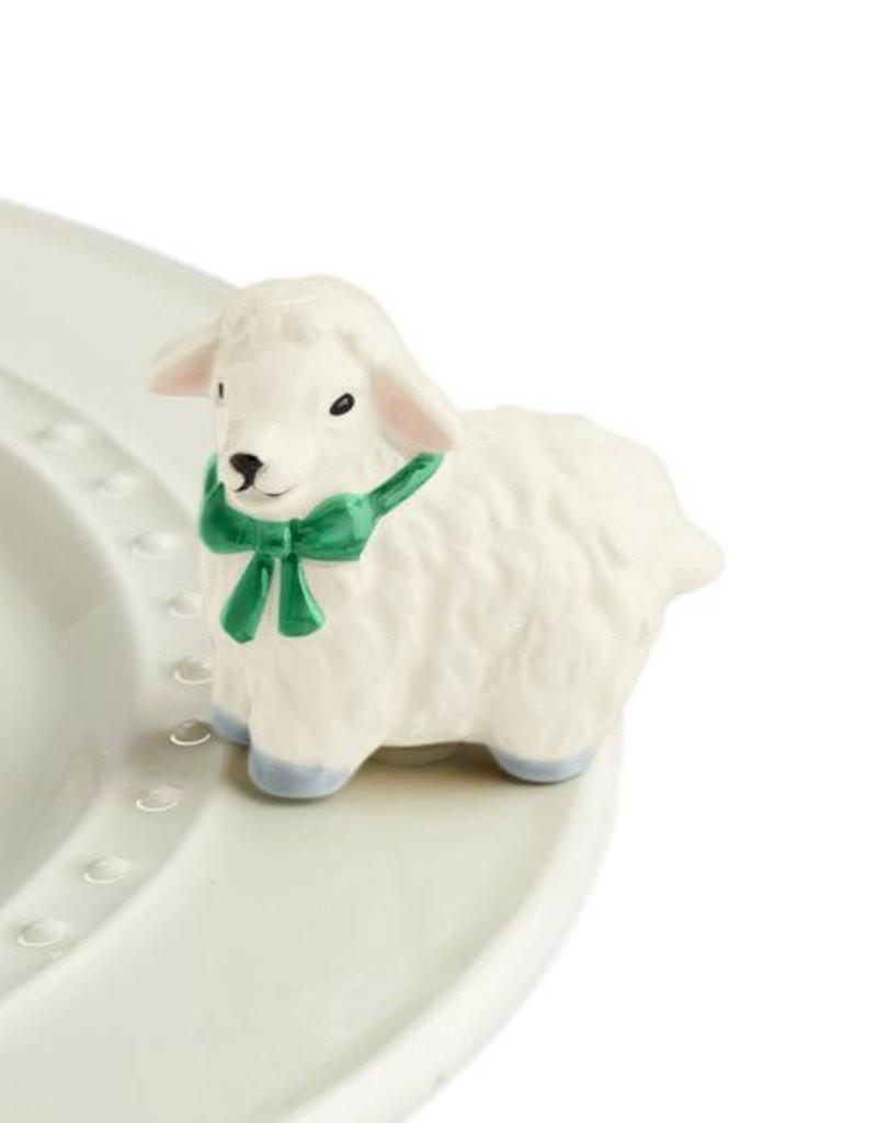 Nora Fleming Topper I Love Ewe (lamb)