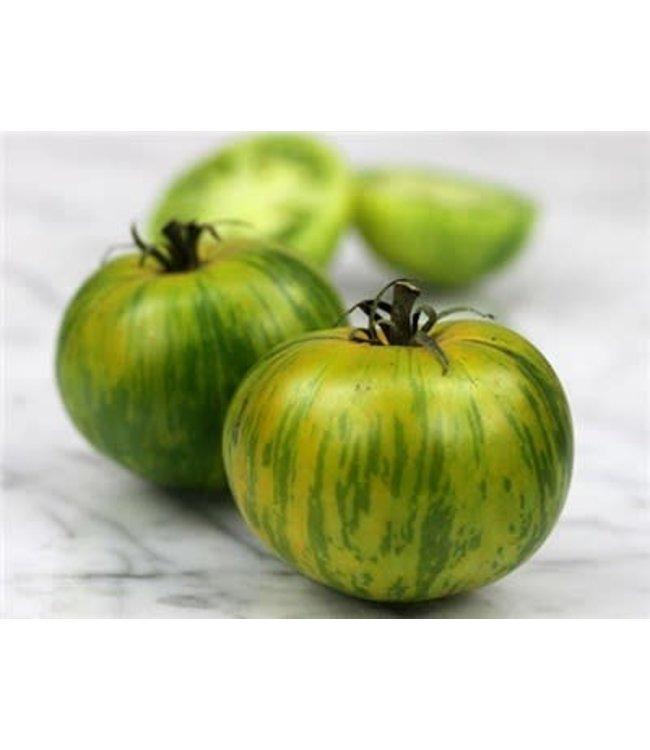 Baker Creek Tomato - Green Zebra Seed