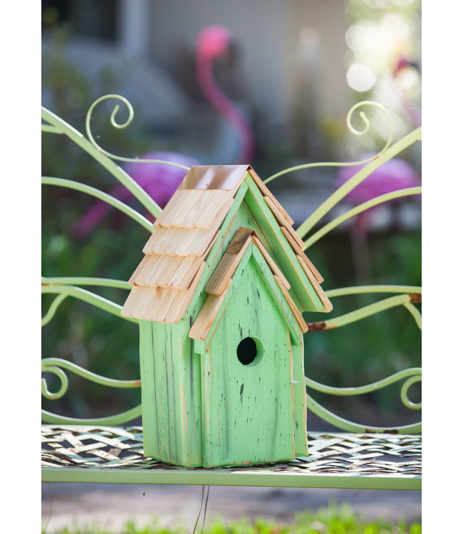 Bluebird Brights Birdhouse