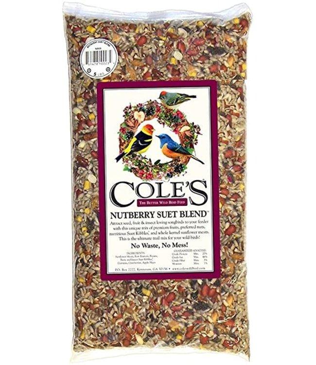 Cole's Nutberry Suet Blend