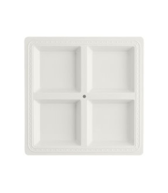 Melamine Sectional Server Square