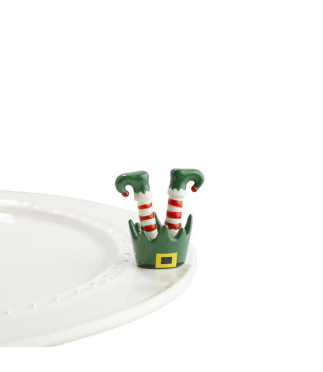 Topper Elf Feet (jingle toes)