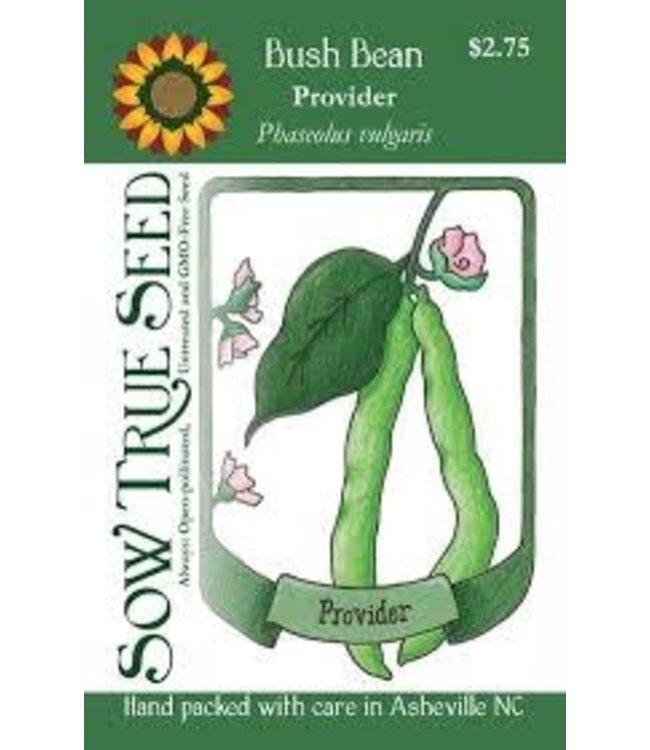 Sow True Seed Bush Bean - Provider