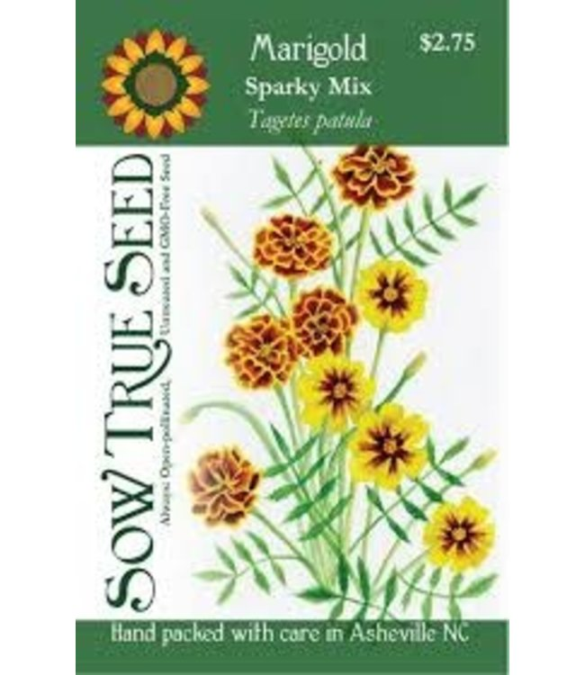 Sow True Seed Winter Marigold - Sparky Mix