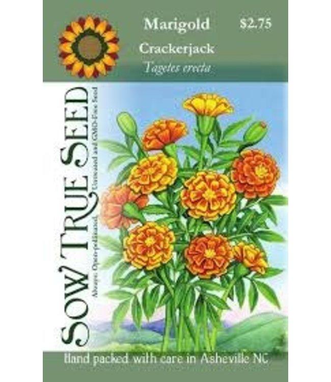 Sow True Seed Marigold - Crackerjack