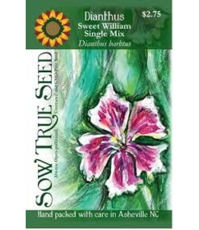 Sow True Seed Dianthus - Sweet William Single Mix