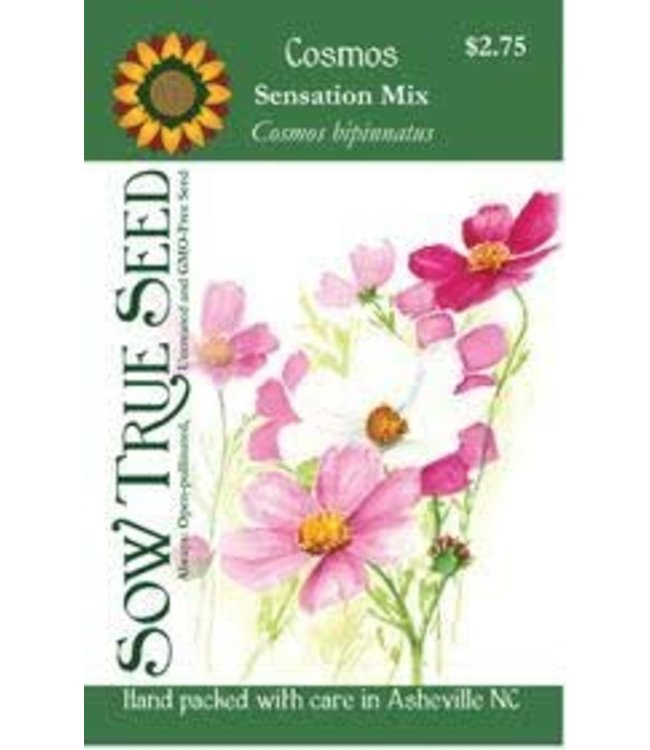 Sow True Seed Cosmos - Sensation Mix