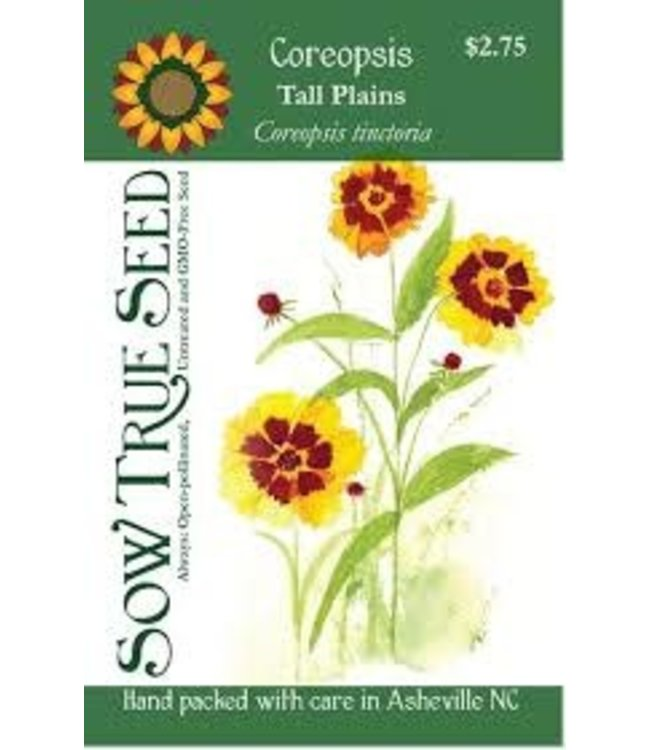 Sow True Seed Coreopsis - Tall Plains