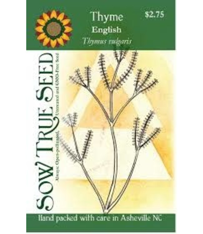 Sow True Seed Thyme - English