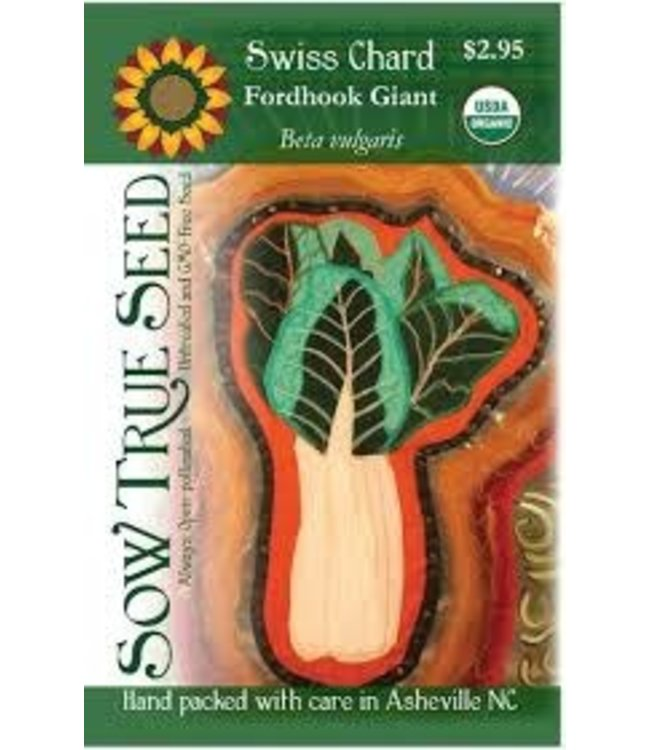 Sow True Seed Swiss Chard - Fordhook Giant
