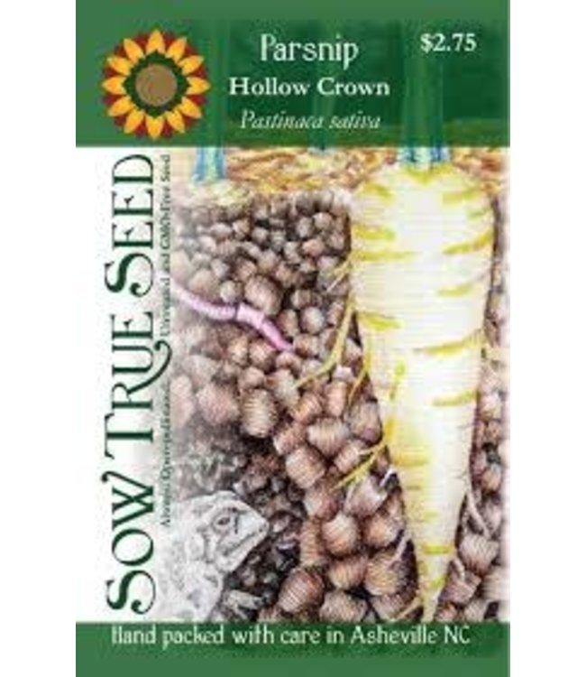 Sow True Seed Parsnip - Hollow Crown