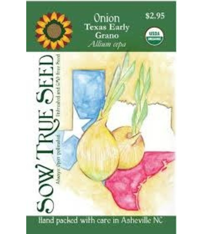 Sow True Seed Onion - Texas Early Grano