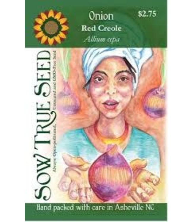 Sow True Seed Onion - Red Creole