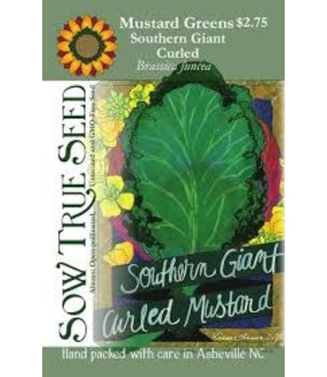 Sow True Seed Mustard Greens - Southern Giant Curled