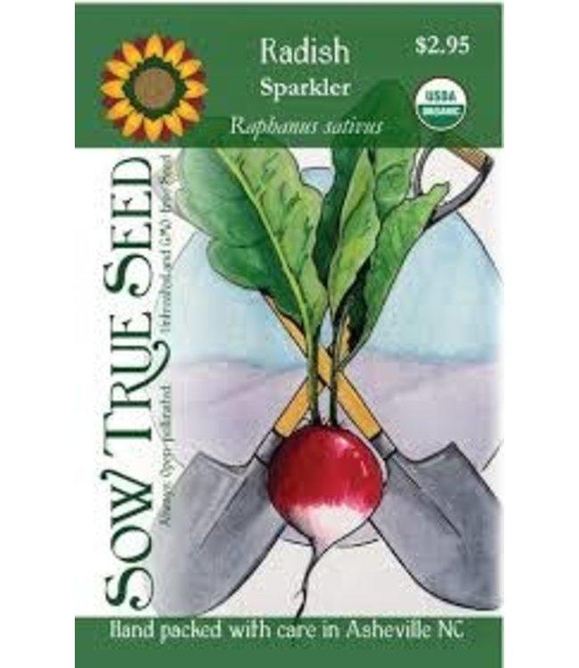 Sow True Seed Radish - Sparkler