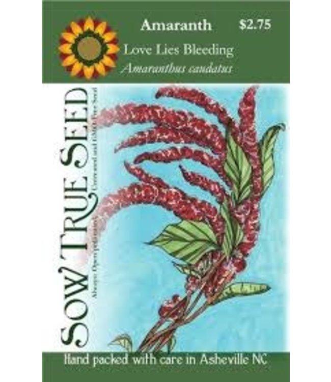 Sow True Seed Amaranth - Love Lies Bleeding