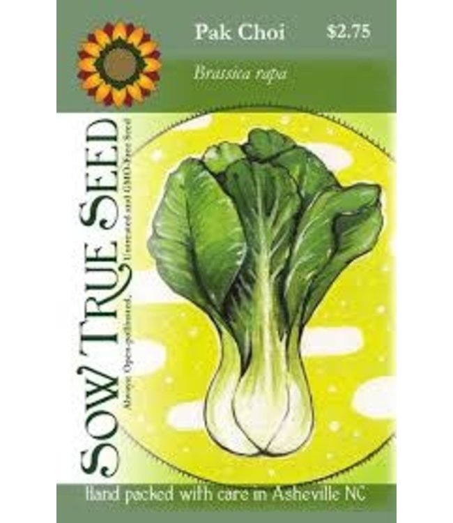Sow True Seed Asian Greens - Pak Choi