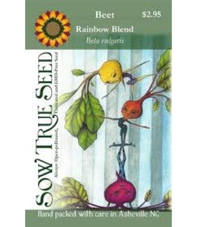 Sow True Seed Beet - Rainbow Blend