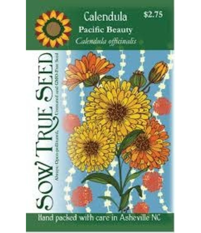 Sow True Seed Calendula - Pacific Beauty