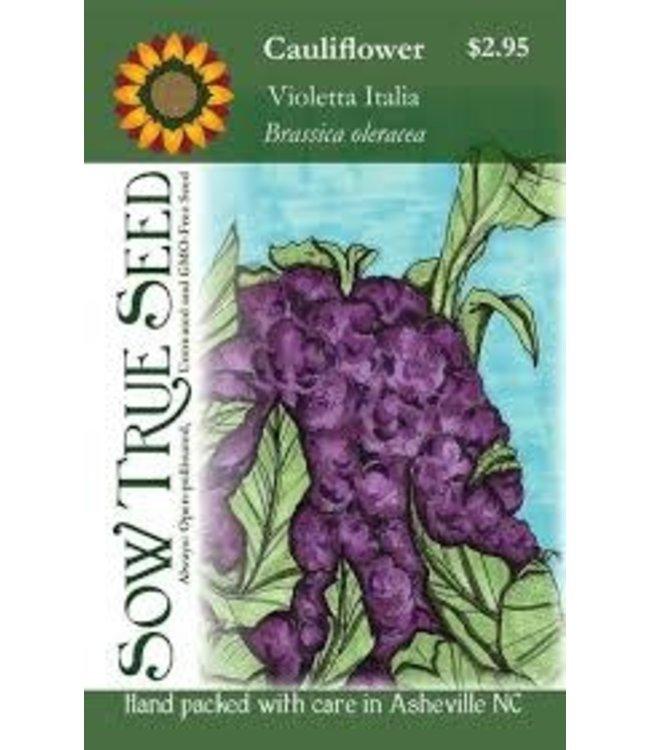 Sow True Seed Cauliflower - Violetta Italia