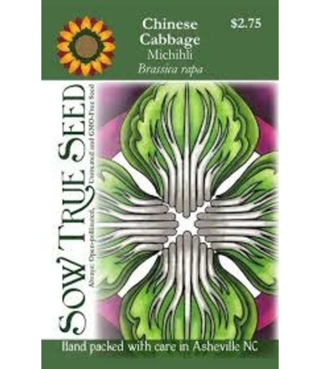 Sow True Seed Chinese Cabbage - Michihli