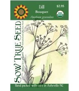 Sow True Seed Dill - Bouquet Organic