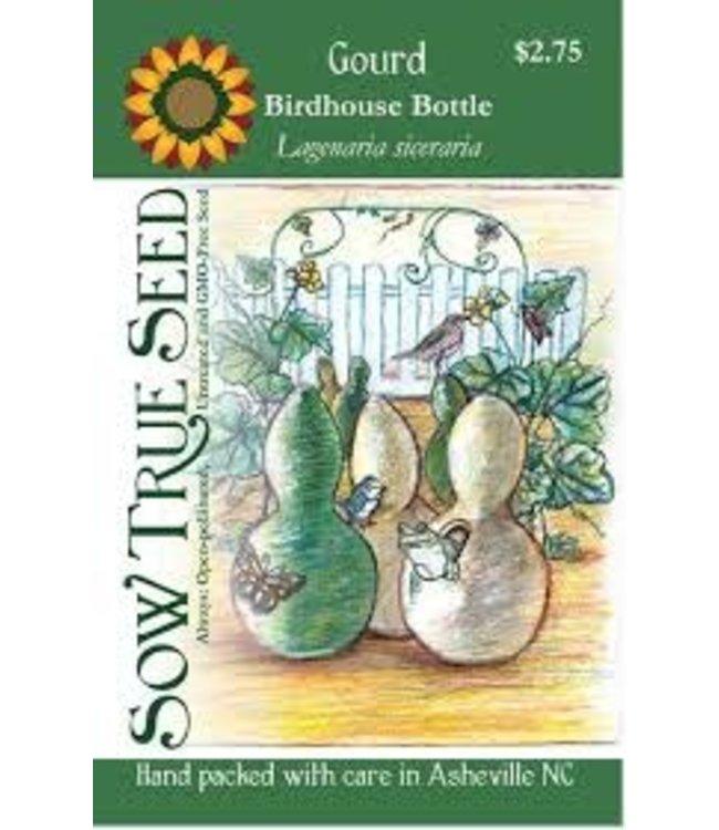 Sow True Seed Gourd - Birdhouse Bottle