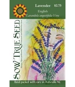 Sow True Seed Lavender - English