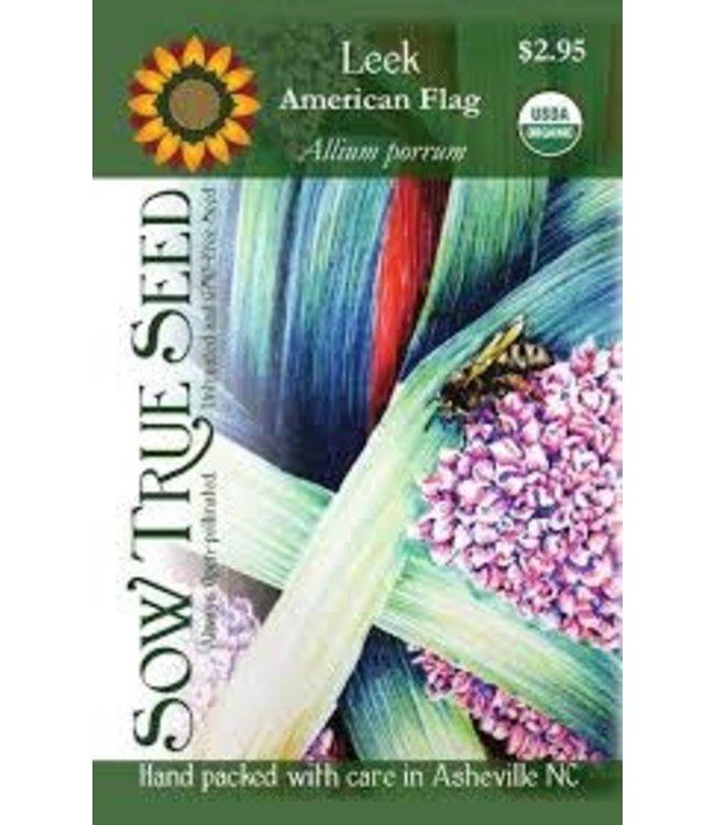 Sow True Seed Leek - American Flag