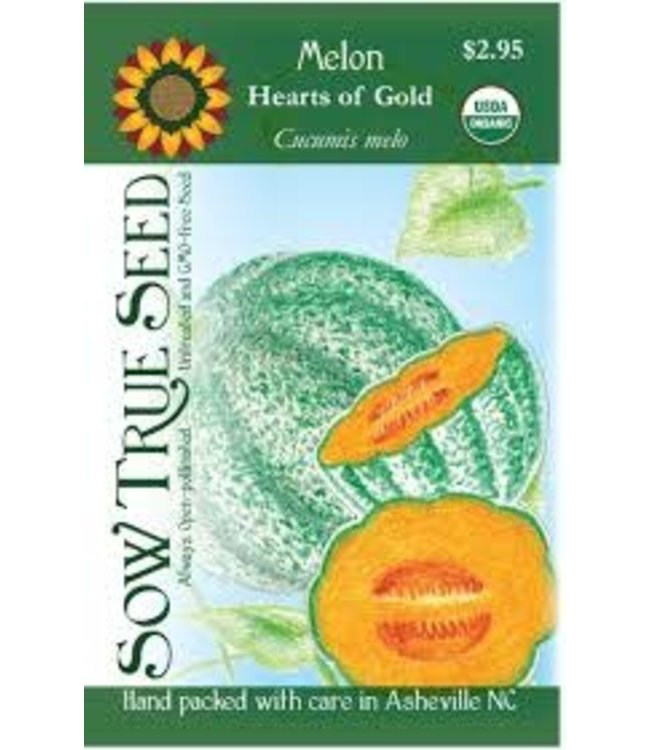 Sow True Seed Melon - Hearts of Gold