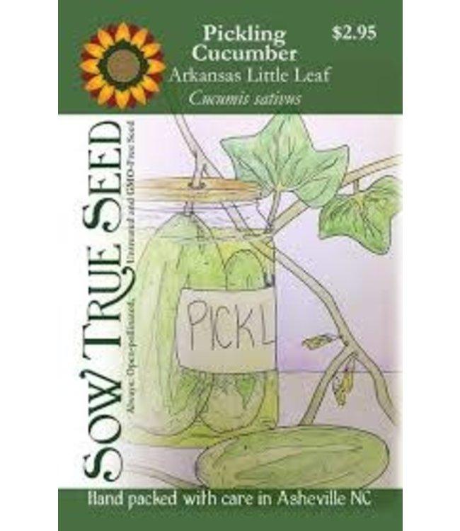 Sow True Seed Cucumber - Arkansas Little Leaf