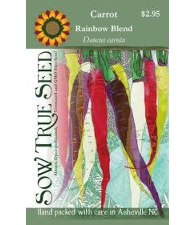 Sow True Seed Carrot - Rainbow Blend