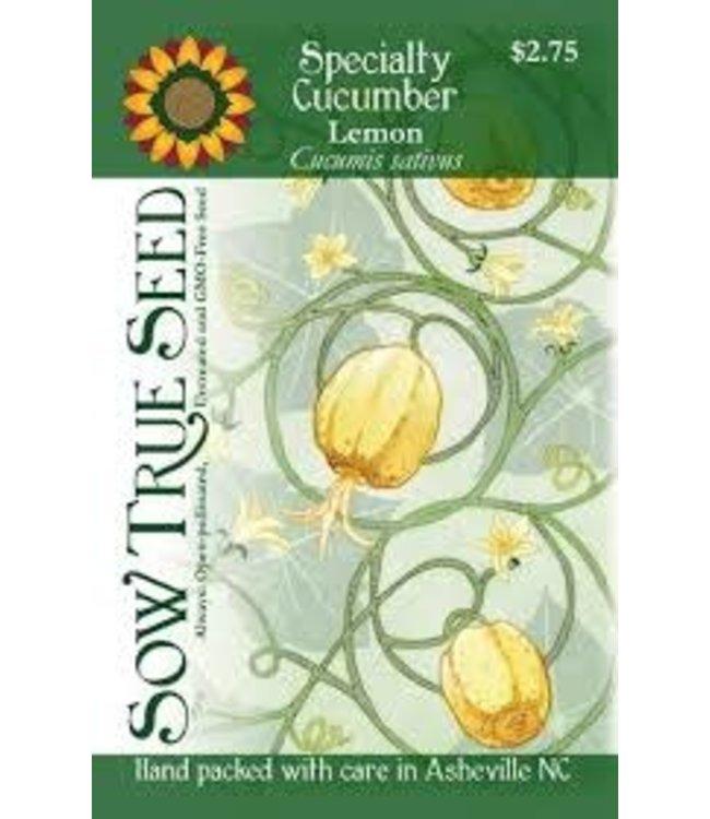 Sow True Seed Specialty Cucumber - Lemon